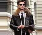 Кожаные Куртки Мужские С Мехом
